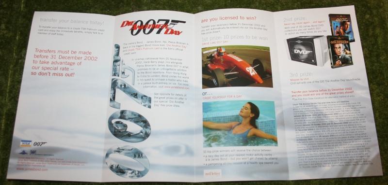 007 dad credit card leaflet