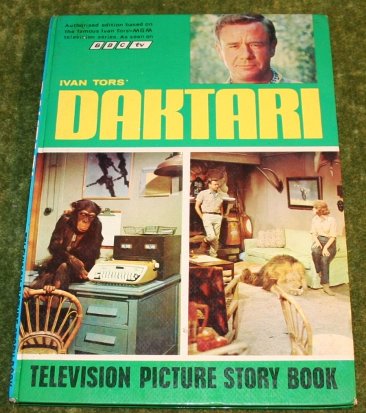 daktari television story book (c) 1968 (2)