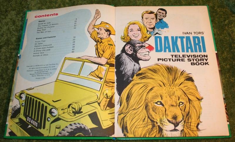 daktari television story book (c) 1968