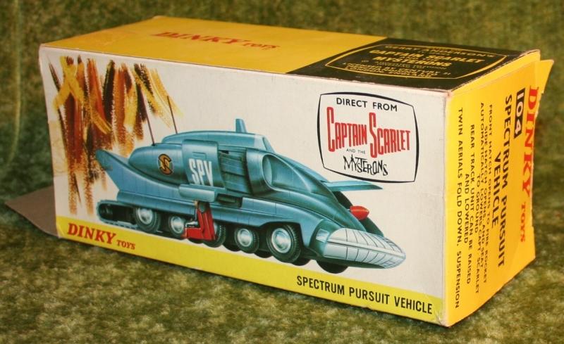 Capt S Dinky toys SPV variations (12)