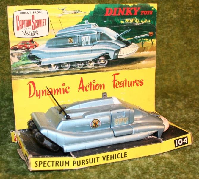 Capt S Dinky toys SPV variations (2)