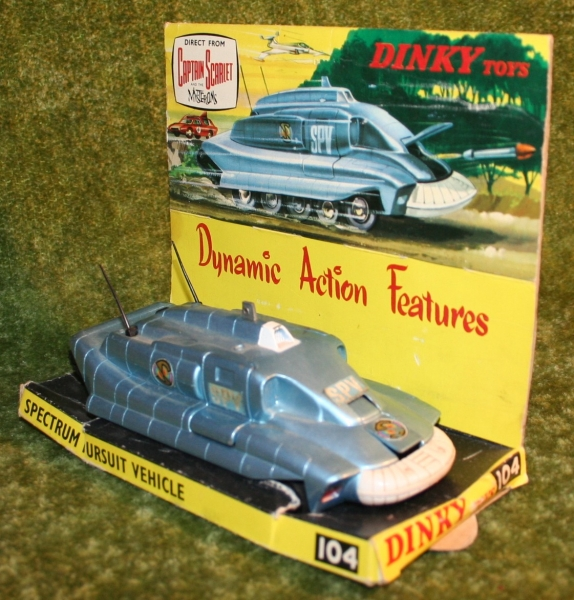 Capt S Dinky toys SPV variations (3)