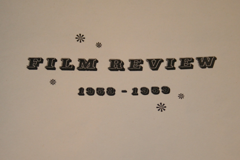 film review 1958-9 (2)