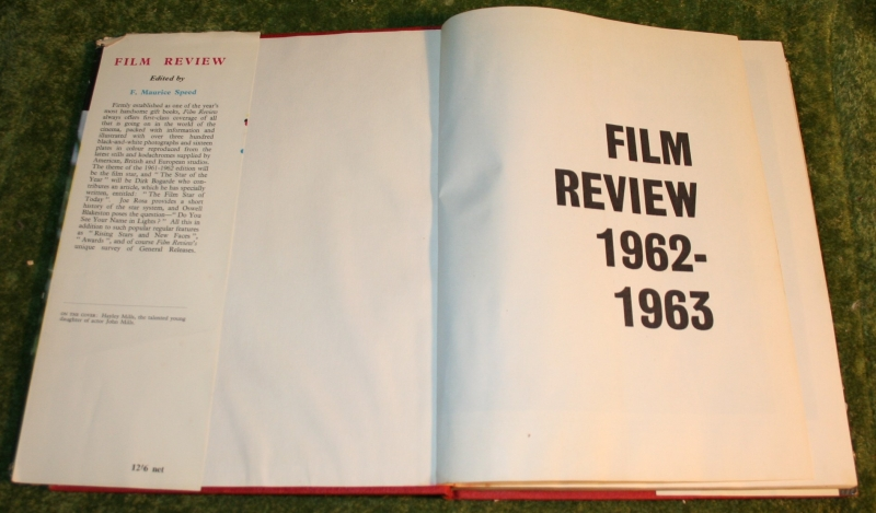 film review 1962-3 (2)