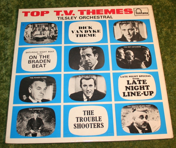 Top TV Themes Mono LP Fontana (2)