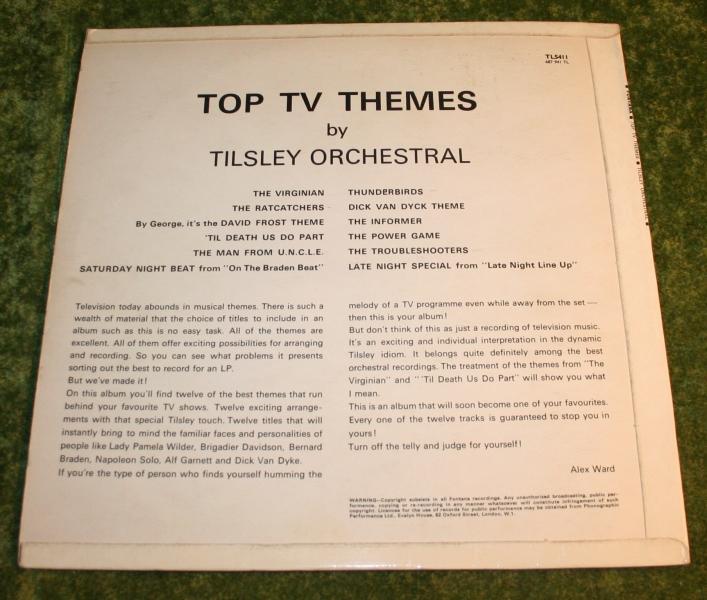 Top TV Themes Mono LP Fontana (3)