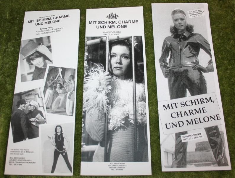 avengers german fan leaflets
