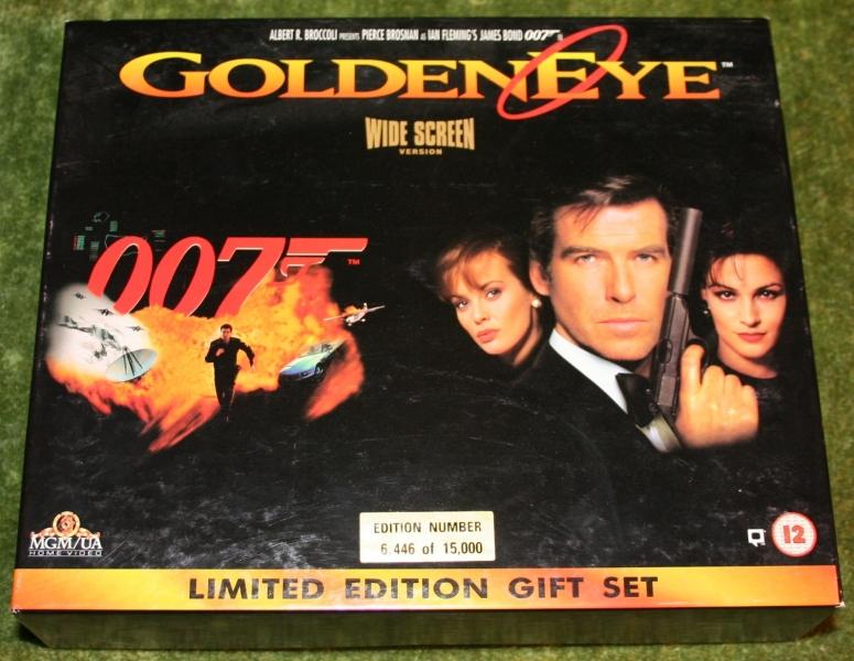 007 lt ed goldeneye video with extras