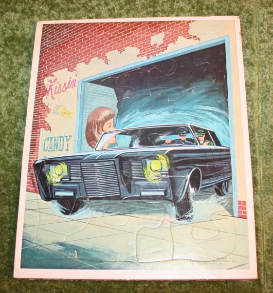 Green Hornet Frame tray puzzle (2)