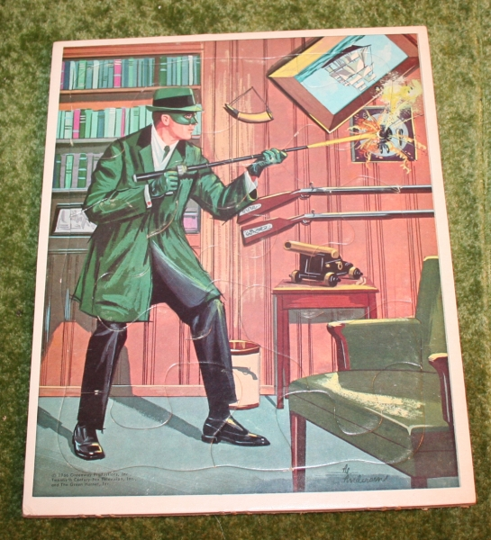 Green Hornet Frame tray puzzle (3)