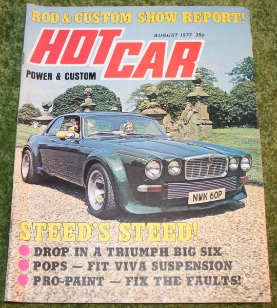 Hot Car August 1977 Little Storping Museum