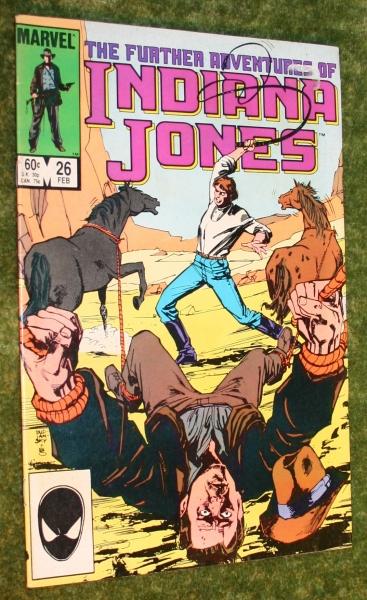 Indy Marvel comic 26