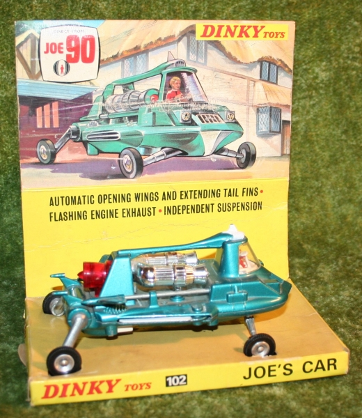 Joe's Car Dinky Toys | Little Storping Museum