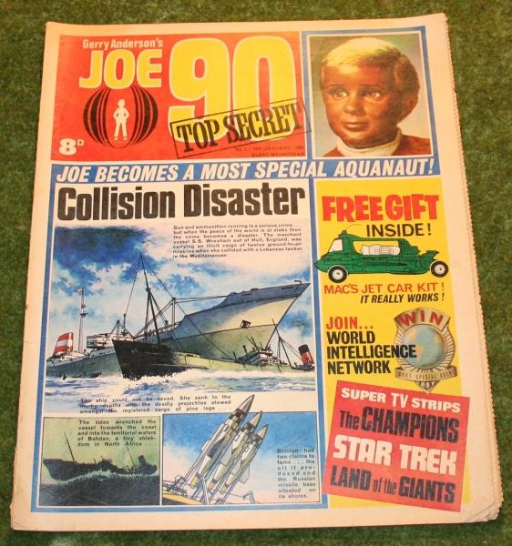 Joe 90 comic No 1 (2)