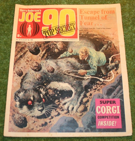 Joe 90 comic no 33 (2)