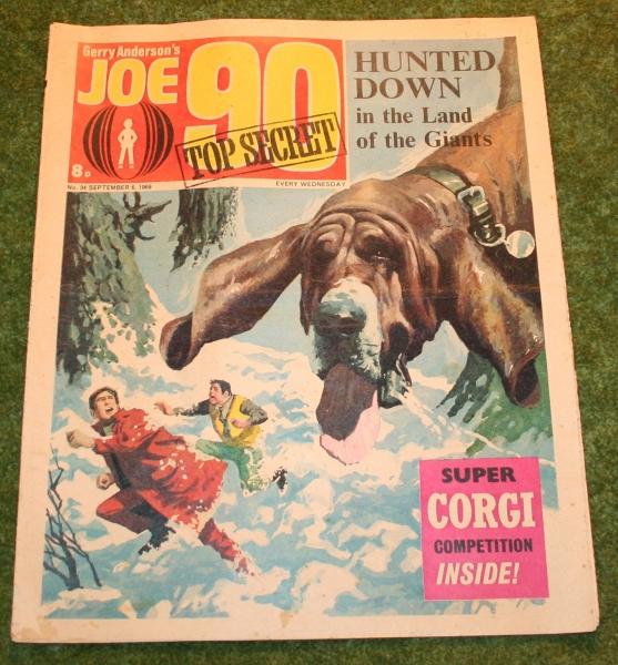 Joe 90 comic no 34 (2)