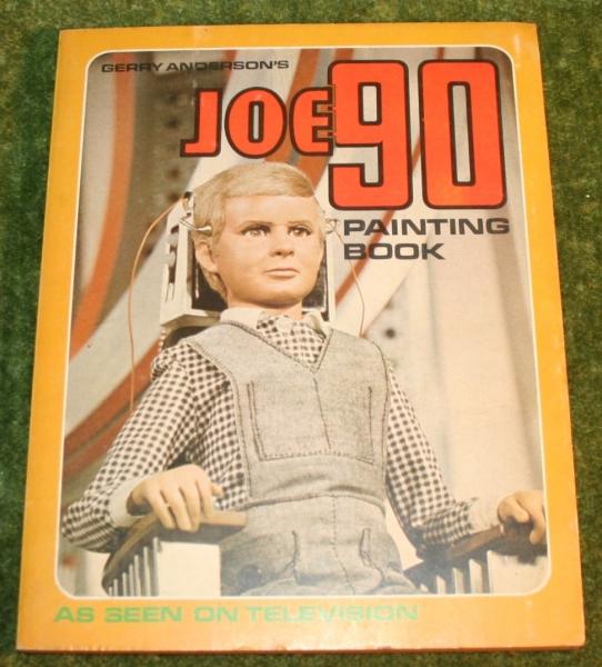 Joe 90 Painting book j1 (2)