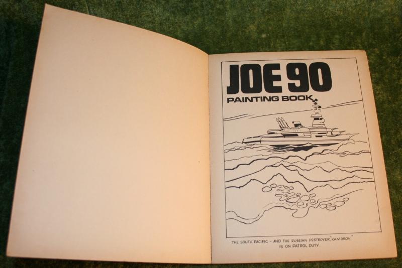 Joe 90 Painting book j1 (3)