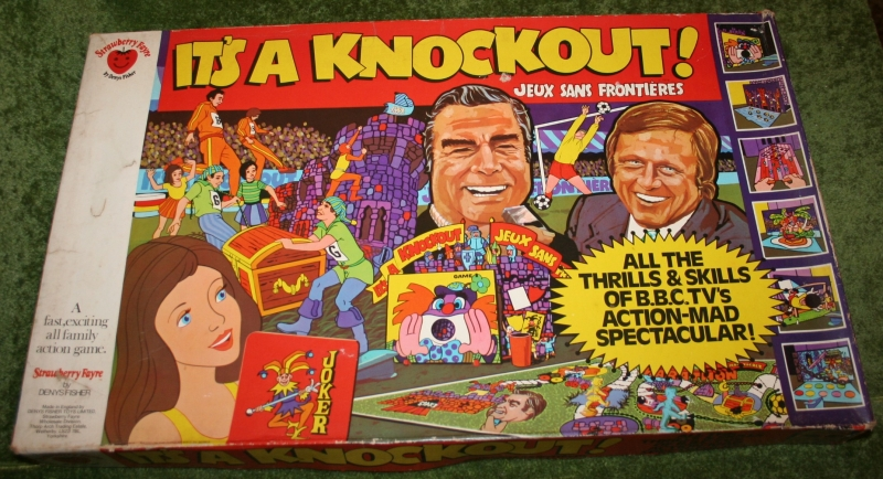 It's A Knockout Board Game | Little Storping Museum