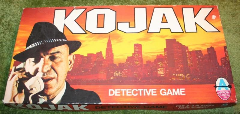 Kojac board game