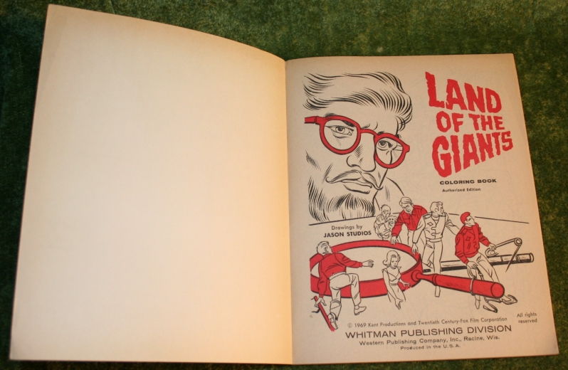 Land of giants colouring book (2)