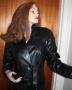 Avengers Movie Emma Peel Long coat (3)