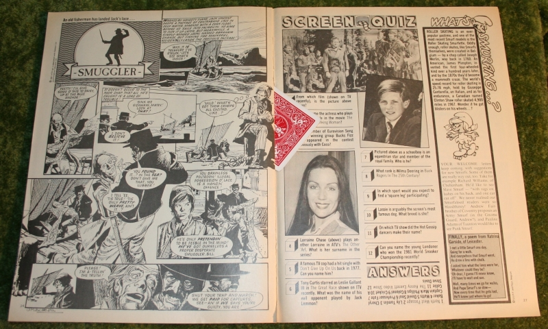 look in 1981 no 23 INCOMPLEATE