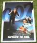 007 Licence to kill promo flyer (2)