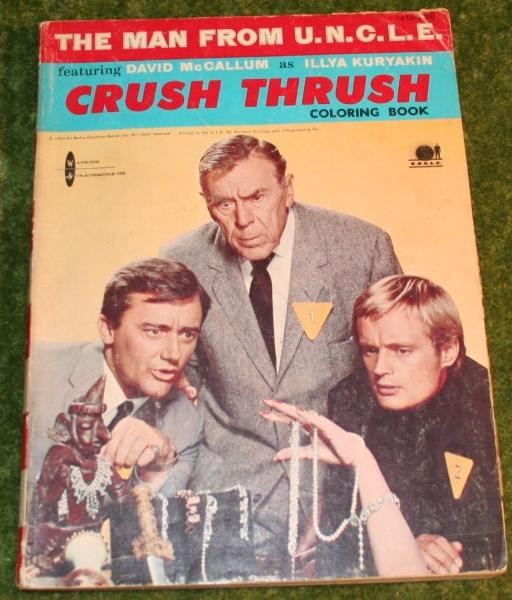 MFU Crush thrush colouring book