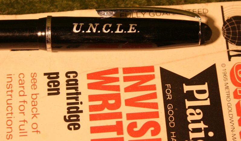 Man From U N C L E Invisible Writing Pen Little