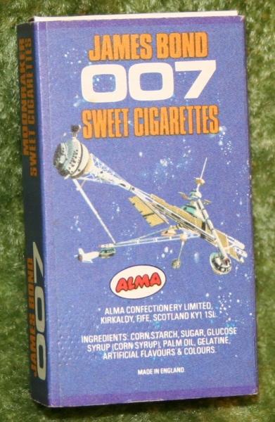 007 moonraker sweet cig box