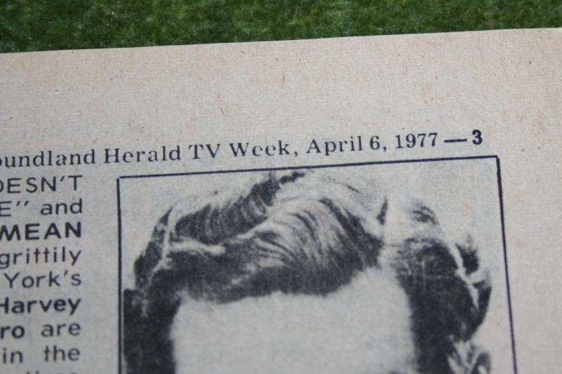 newfoundland herald tv week 1977 april 6