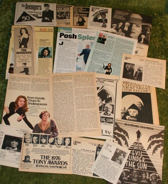 Avengers Newspaper cuttings (2)