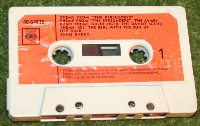 persuaders cassette tape album