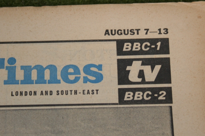 radio times 1965 august 7-13