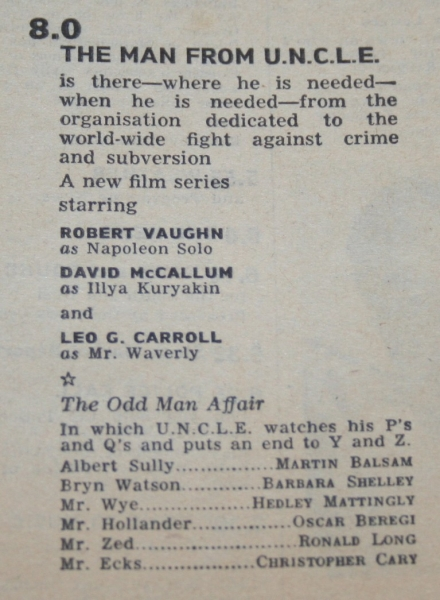 Radio times 1965 July 31 - August 6