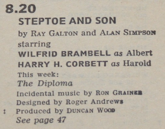 Radio Times 1967 July 15-21