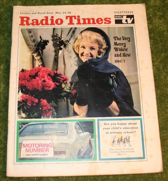 Radio Times 1969 may 24 -30