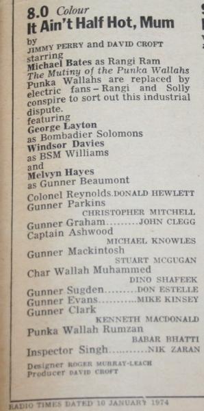 Radio Times 1974 January 12-18