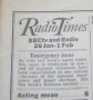 radio times 1974 jan 26 -feb 1
