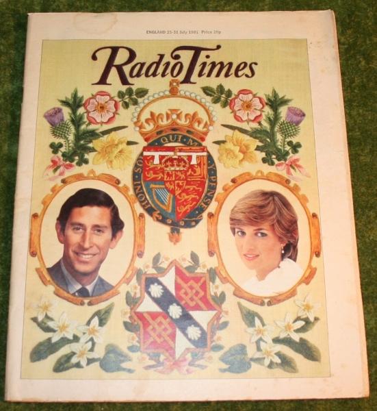 Radio Times 1981 July 25 - 31