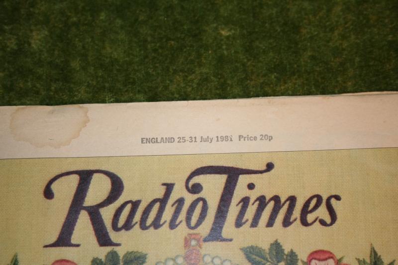 Radio Times 1981 July 25 - 31  (2)