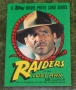 Raiders of the Lost ark gum cards (2)