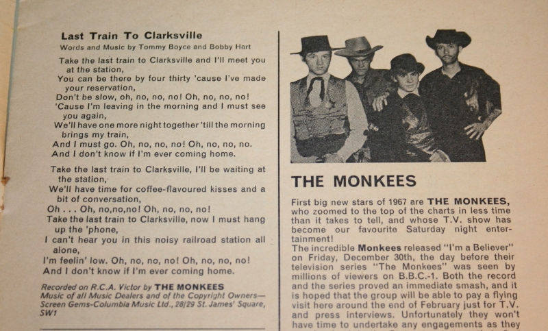 record song book magazine monkees cover 1-3-1967 (4)
