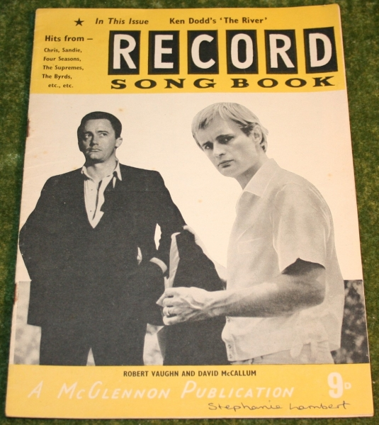 record song book magazine UNCLE cover poss 1965 (2)