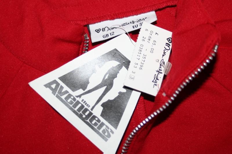 Avengers Movie Emma Peel Red Catsuit (2)