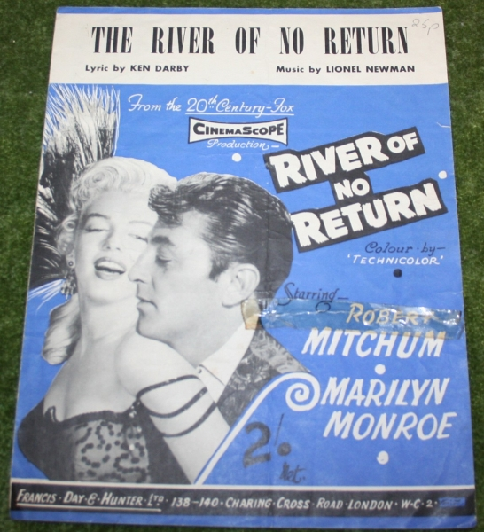 River of no return sheet music