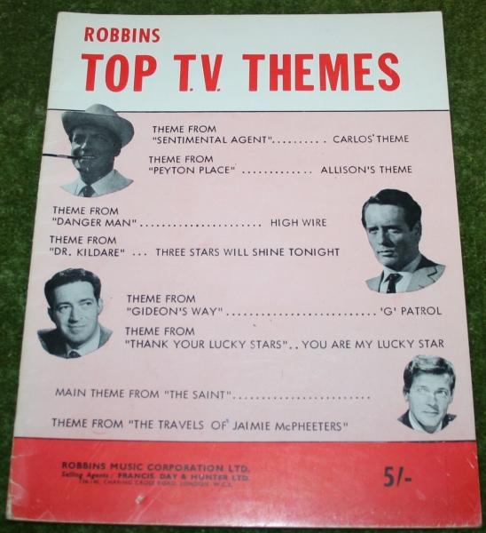 Robbins Top TV themes Sheet music