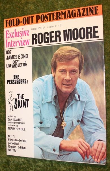 Rogor Moore poster mag