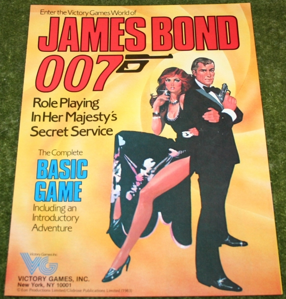 007 Role playing game leaflet (2)